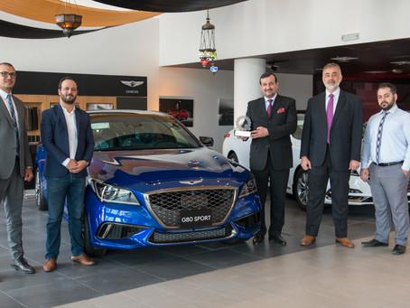 Genesis G80 Sport named the Best Mid-Size Premium Sport Sedan in Qatar