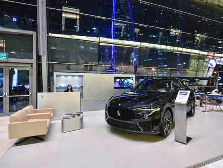 Maserati Qatar, official car sponsor of Doha Jewellery and Watches Exhibition for the third consecut