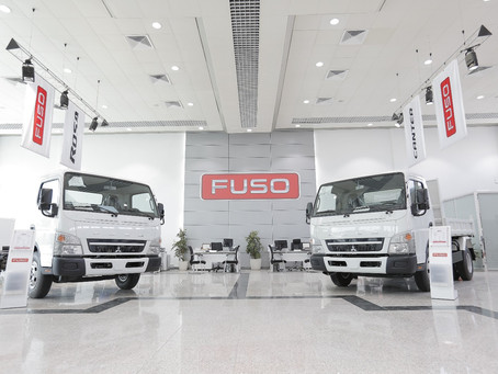 Qatar Automobiles Company participates in Project Qatar 2019 and displays Mitsubishi FUSO Canter