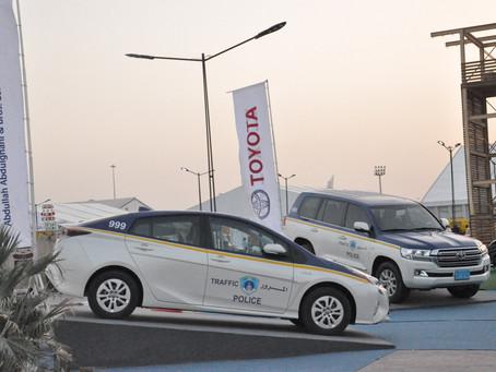 Abdullah Abdulghani & Bros.CO. participates in 34th Traffic Week