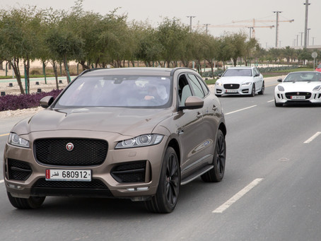 Jaguar Land Rover Wins Three 2017 Middle East Car of the Year (MECOTY) Awards