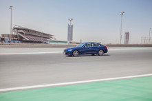Red Fury, Driving the Infiniti Q50 Red Sport 400 in Dubai