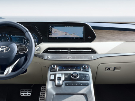 Hyundai Palisade Interior Design Features Awarded Wards 10 Best   User Experiences™ Trophy