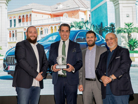 Alfardan Sports Motors wins Best Luxury Sport Sedan award with Maserati Ghibli