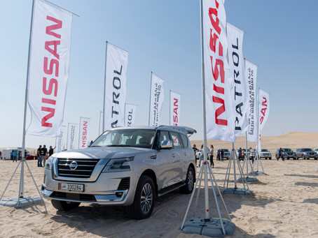 Saleh Al Hamad Al Mana Co. holds Nissan Patrol Desert Drive to give customers a thrilling off-road