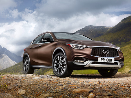 The first ever INFINTI QX30 arrives in the Middle East