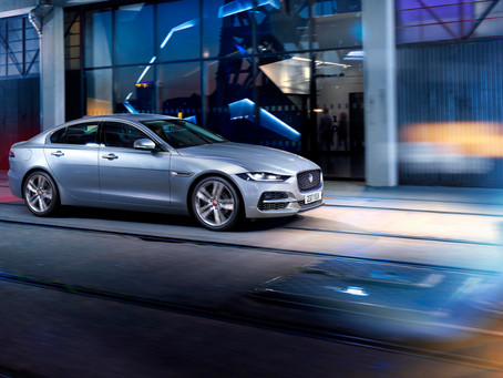 NEW JAGUAR XE: ENHANCED EXTERIOR ALL-NEW LUXURIOUS INTERIOR AND INTUITIVE NEW TECHNOLOGY