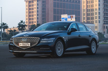 2021 Genesis G80, a midsize luxury sedan with superior design and outstanding performance
