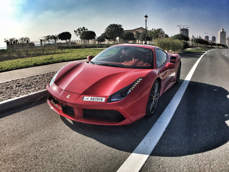 Everything the 458 Italia can do, the 488GTB can do better