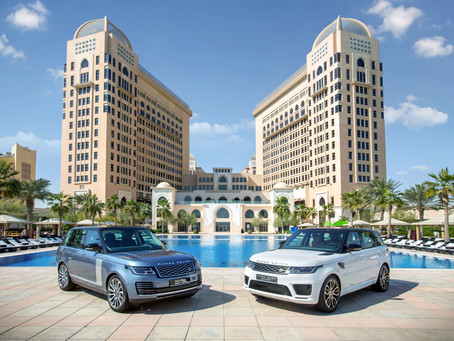 THE NEW 2018 RANGE ROVER AND RANGE ROVER SPORT DEBUT AT ALFARDAN PREMIER MOTORS SHOWROOMS IN QATAR