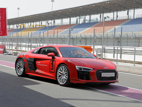 Audi Qatar celebrates motorsport heritage with special track day event