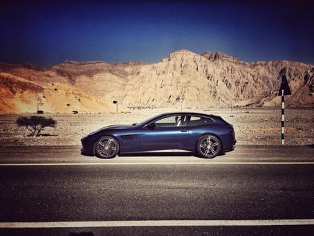Ferrari GTC4Lusso, an unforgettable experience
