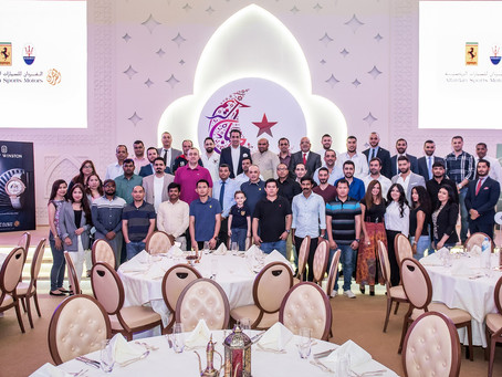 Alfardan Sports Motors honours staff and workers with special Iftar during Ramadan