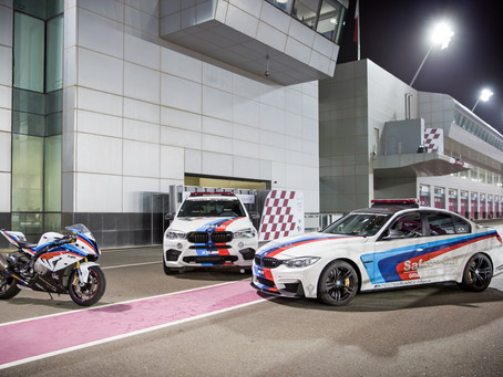 BMW M3 and BMW X5 M selected to be Official Safety Cars at the MotoGP Grand Prix of Qatar 2017