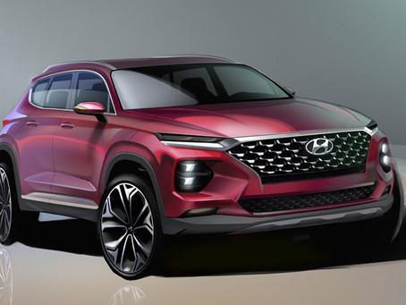 Hyundai Motor Unveils First Rendering of the Santa Fe