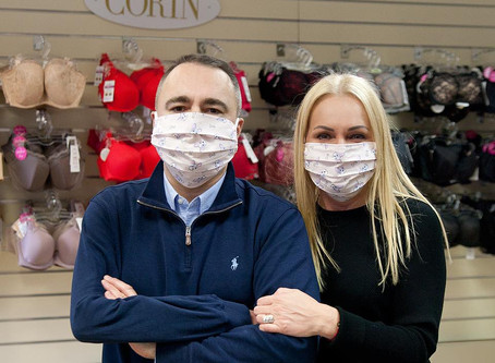 """We present information on protective face masks manufactured by P.P.H.U.""""CORIN"""" B. and M. Hanczka"""