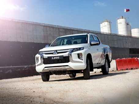 Qatar Automobiles Company launches the new Mitsubishi L200 pickup truck in Qatar
