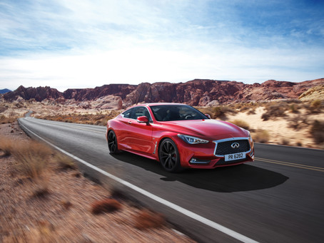 Queueing Up for Infinite Possibility, The Q60 Makes Its European Debut