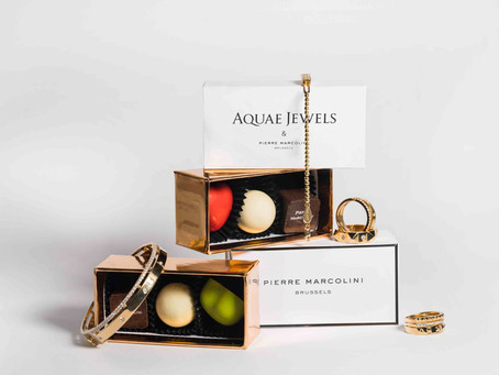 AQUAE JEWELS COLLABORATES WITH PIERRE MARCOLINI THIS VALENTINE'S DAY