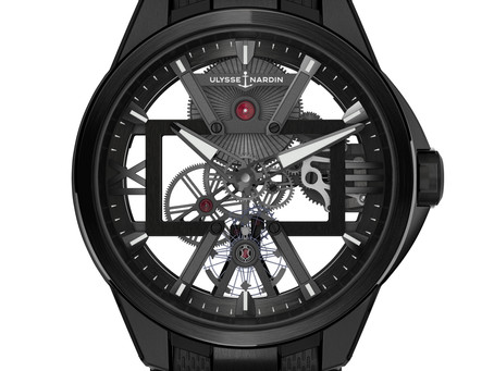 THE UNIQUE CASE OF CARBONIUM®   X Collection by Ulysse Nardin