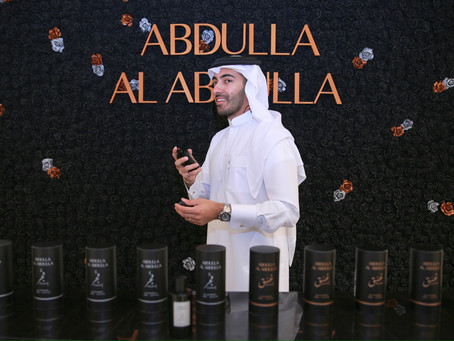 Galeries Lafayette Doha Launches first ever 'Made in Qatar' fragrance brand by Abdulla Al Abdulla