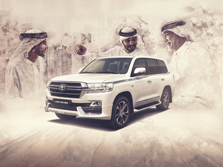 CELEBRATING 10 MILLION LAND CRUISER GLOBAL SALES