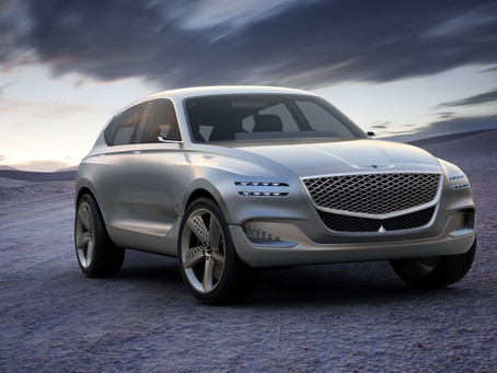 Genesis GV80 Concept: Luxurious, forward-thinking and high-tech