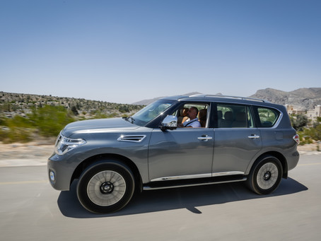 Driving the Nissan Patrol in Awesome Oman