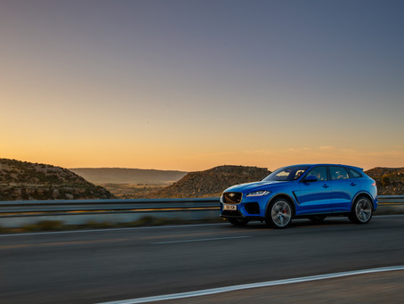 Jaguar F-Pace SVR, the sportiest crossover on the planet.