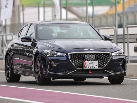 GENESIS TAKES PART IN THE LADIES TEST DRIVE OPEN DAY ORGANIZED BY THE LOSAIL INTERNATIONAL CIRCUIT.