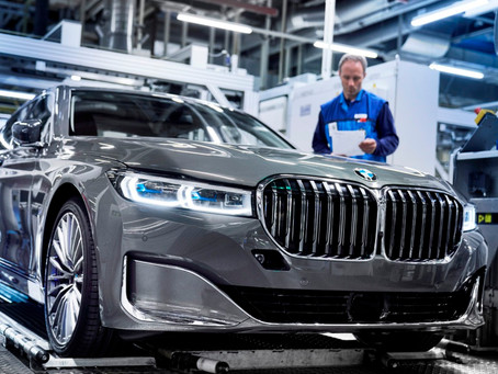 Start of production for new BMW 7 Series Sedan.