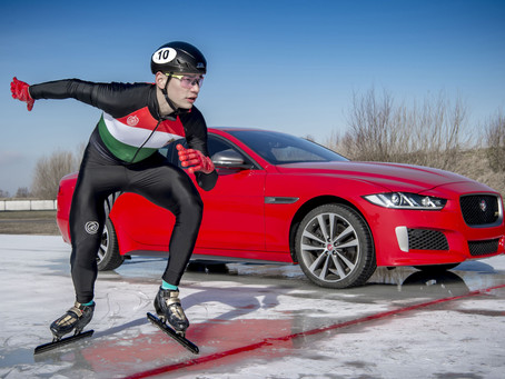 NEW XE 300 SPORT EDITION WINS GRIPPING ICE RACE