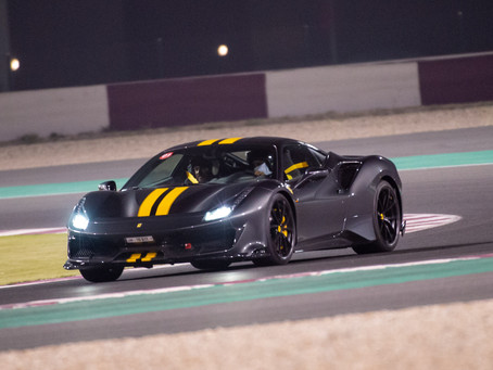 "Losail International Circuit hosts the latest edition of ""Passione Ferrari"""