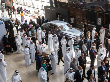 ROLLS-ROYCE MOTOR CARS DOHA SHOWCASES PHANTOM AT DOHA JEWELLERY AND WATCHES EXHIBITION 2020