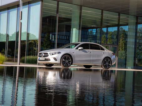 The new Mercedes-Benz A-Class Sedan.. Compact point of entry to the world of premium sedans
