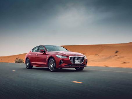 Genesis G70 Luxury Sedan Arrives in Middle East