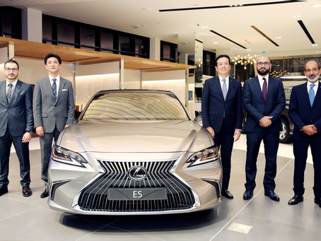 The all-new 2019 Lexus ES unveiled by Abdullah Abdulghani & Bros Co.