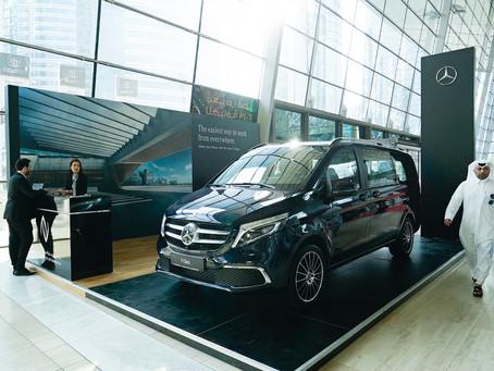 Nasser Bin Khaled Automobiles launches The new Mercedes-Benz V-Class in Qatar