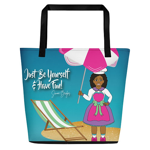 Beach Bag: Just Be Yourself
