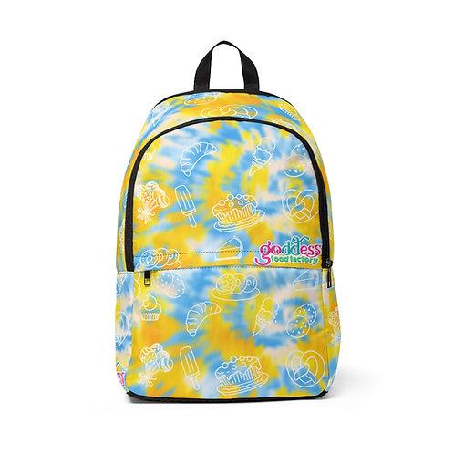 GFF - YellowTie-Dye Backpack