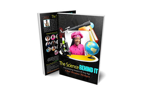 Chef Simone Book…The Science Behind It