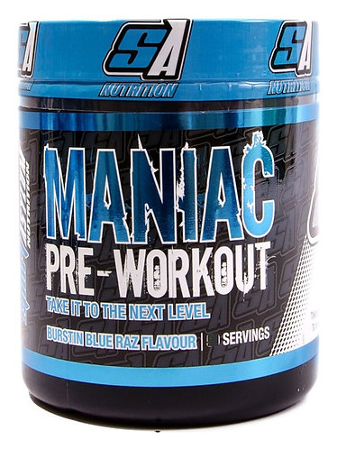 Sport Asylum Nutrition Maniac Pre Workout