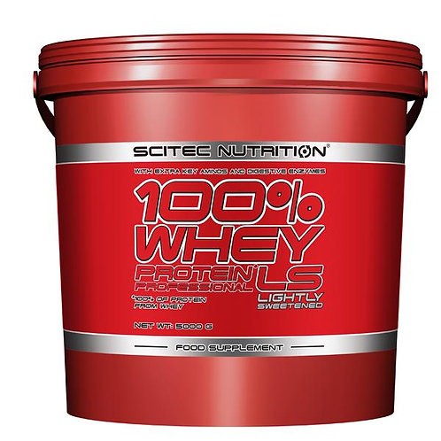 Scitec Nutrition 100% Whey Professional Protein Powder - 5000g