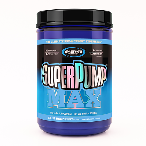 Gaspari Nutrion Superpump 640g