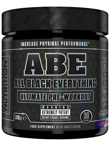 Applie Nutrition ABE (All Black Everything) Pre Workout