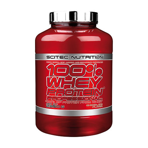 Scitec Nutrition 100% Whey Professional Protein Powder - 2350g