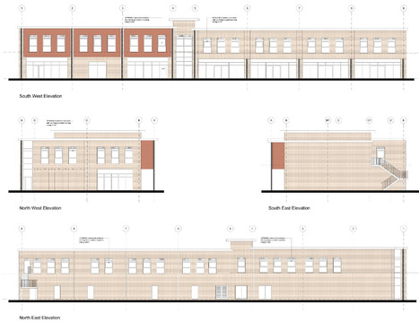 P04I - ELEVATIONS TO THE RESI AND RETAIL