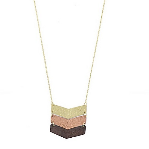 Law of Three Necklace (Reversable)