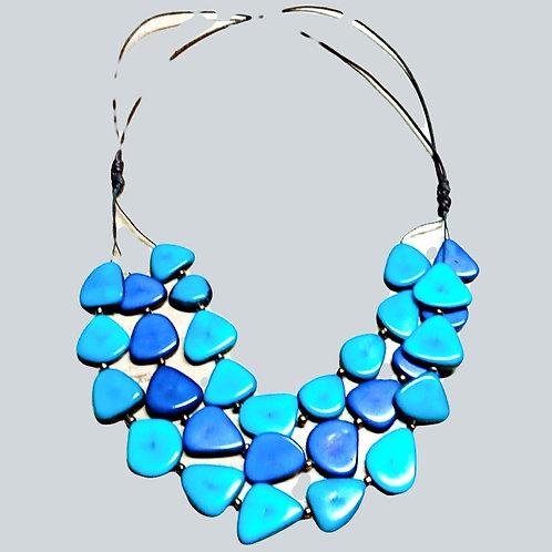 Triple Corazon (Heart) Tagua Necklace
