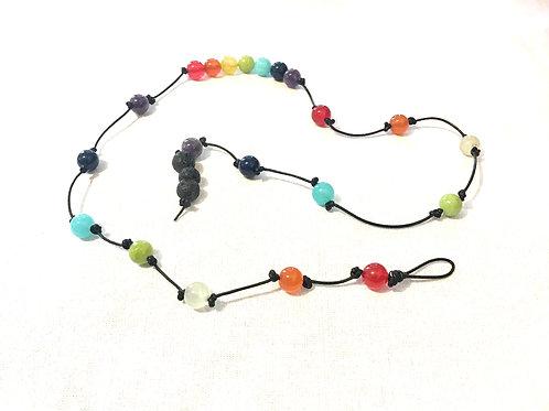 """Ruthie"" Chakra Wrap Bracelet & Necklace"